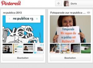Pnterest Board re:publica rp13